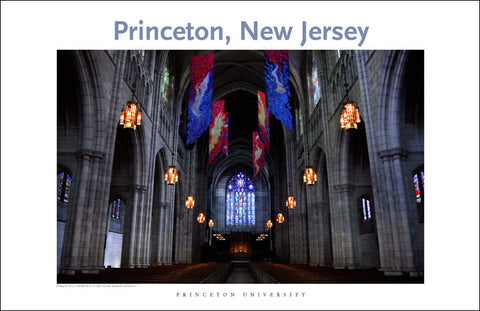 Princeton University Chapel 114 Digital Wall Art