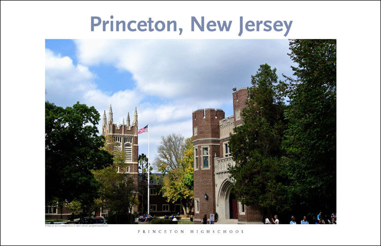 Princeton New Jersey 125 Digital Wall Art