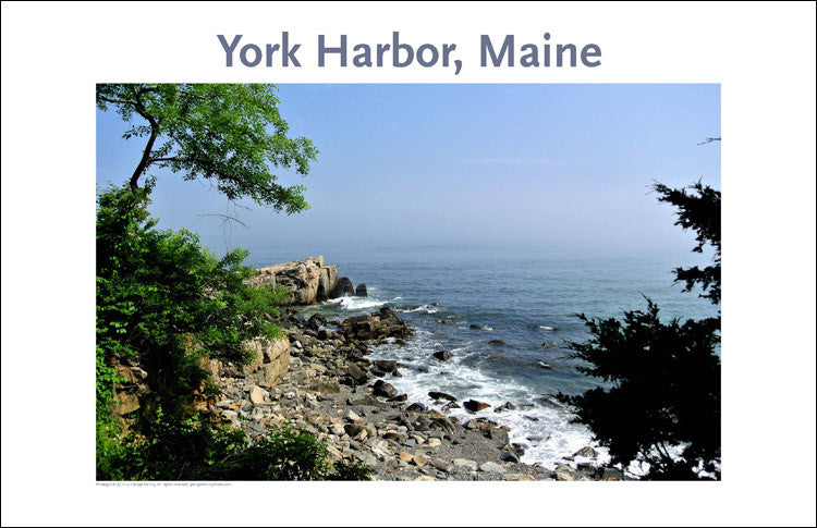 York, Maine Place Photo Wall Art Collection #135