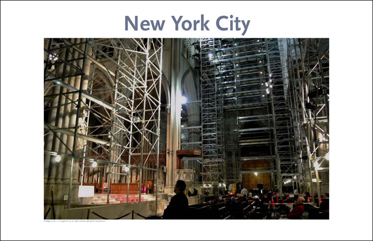 St. Patrick's Cathedral, Place Photo Poster Collection #145, NYC