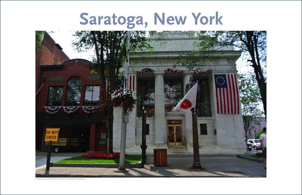 Saratoga, New York, Place Photo Poster Collection #18