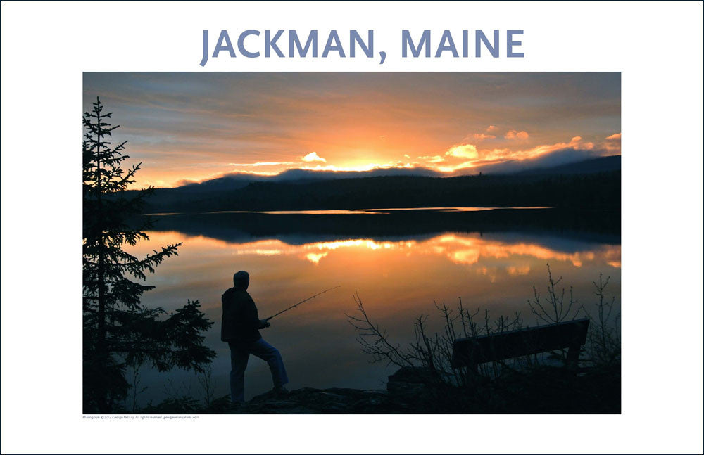 Jackman, Maine, Place Photo Poster Collection #1