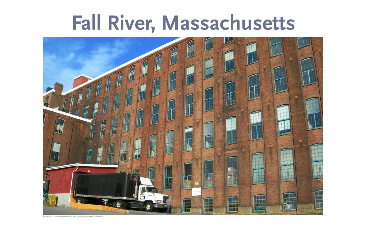 Wall Art, Fall River, MA, Mill Space to Max, Digital Photo #277