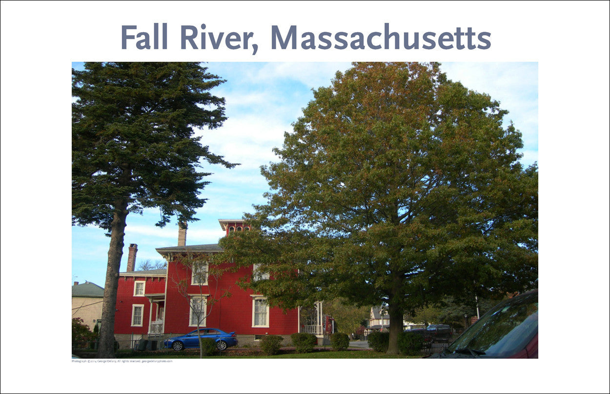 Fall River, Massachusetts Photo Poster Collection #232