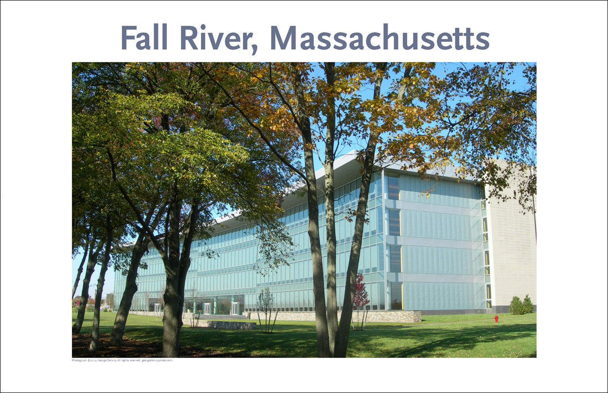 Wall Art, Fall River, MA, Business Development in City, Digital Photo #233