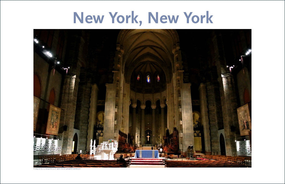 St. John the Divine, NYC, Place Photo Wall Art Collection #23,