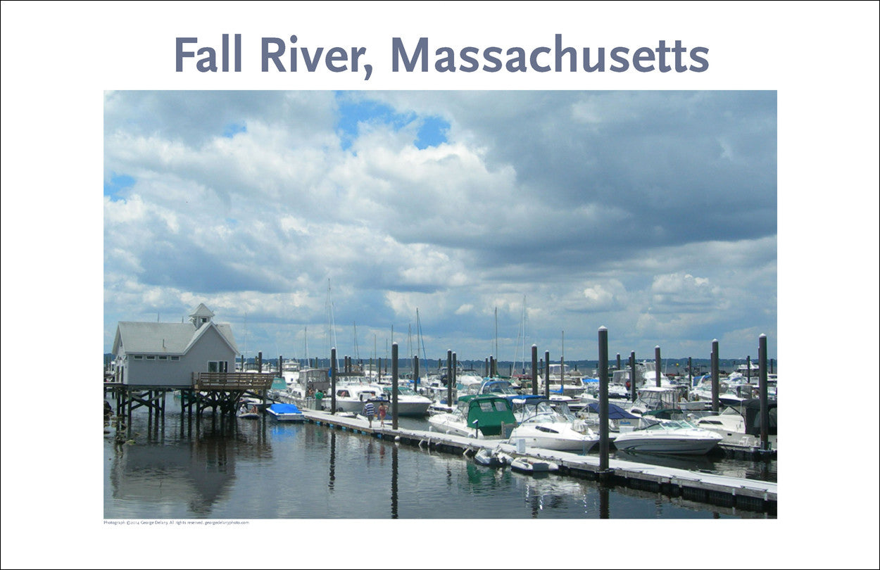 Wall Art, Fall River, MA What a Waterfront Community Digital Photo #248