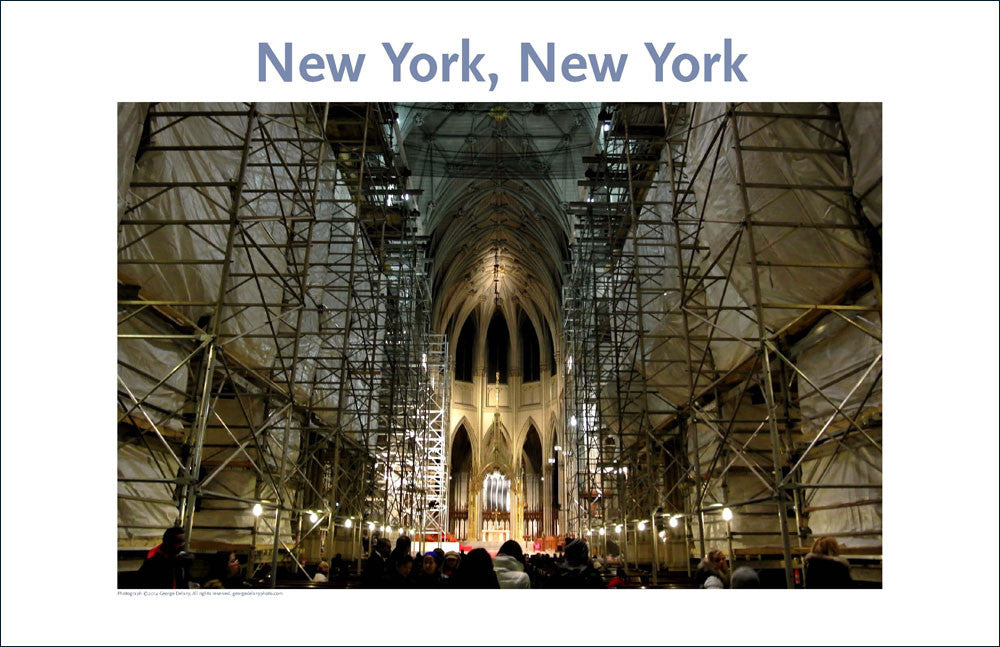 St. Patrick's Cathedral, NYC, Place Photo Poster Collection #25