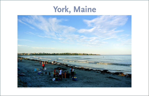 Long Beach, York, Maine, Place Photo Poster Collection #28