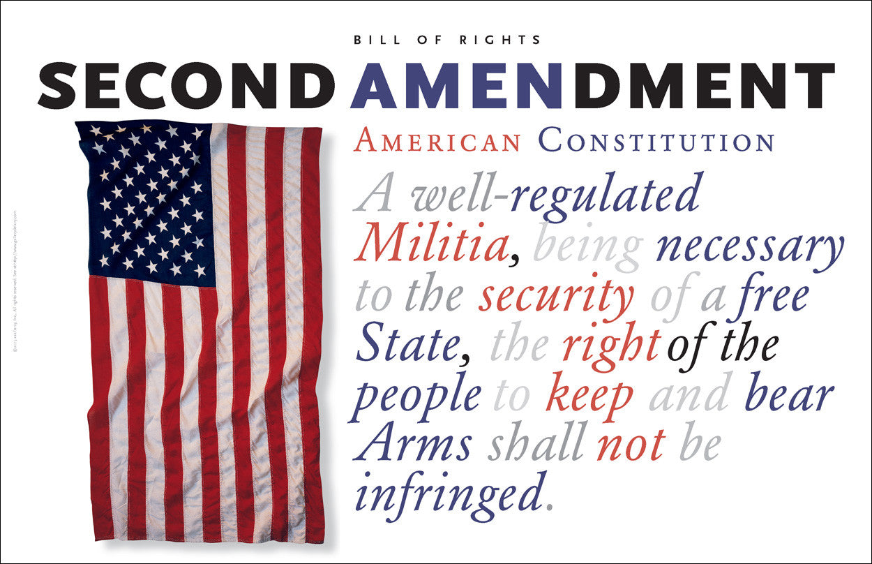 Second Amendment to the US Constitution #A164