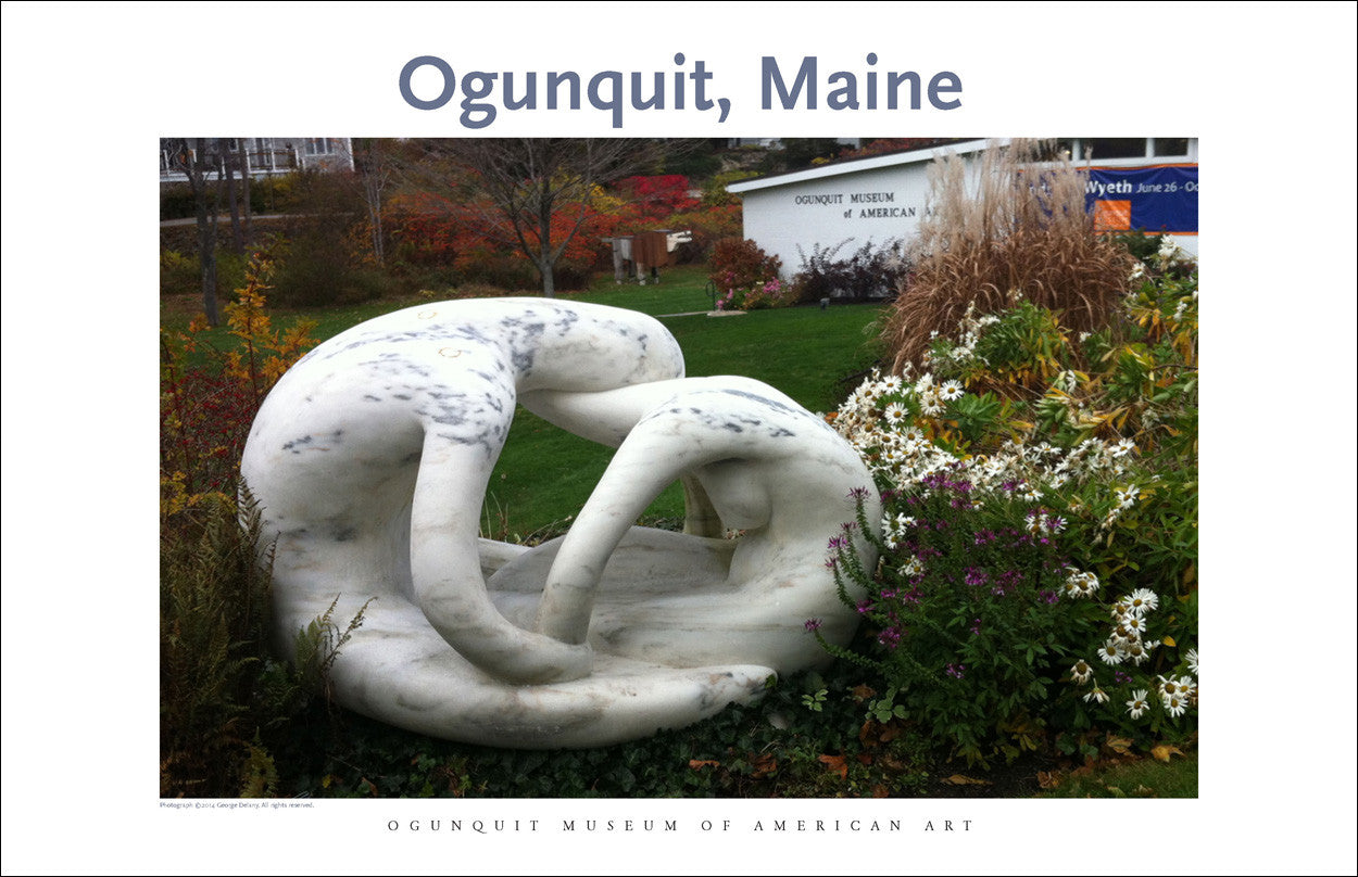 Ogunquit, Maine, Ogunquit Museum American Art, Photo Poster Collection #307