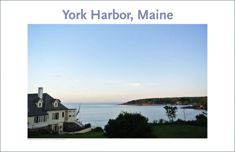 Reading Room, York Harbor, Maine, Place Photo Poster Collection #30
