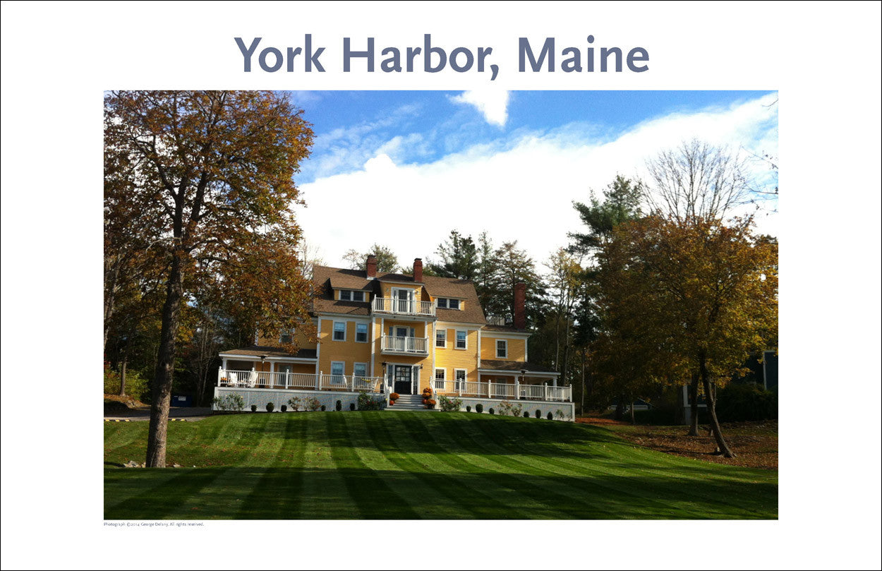 B&B, York Harbor, Maine Photo Poster Collection #317