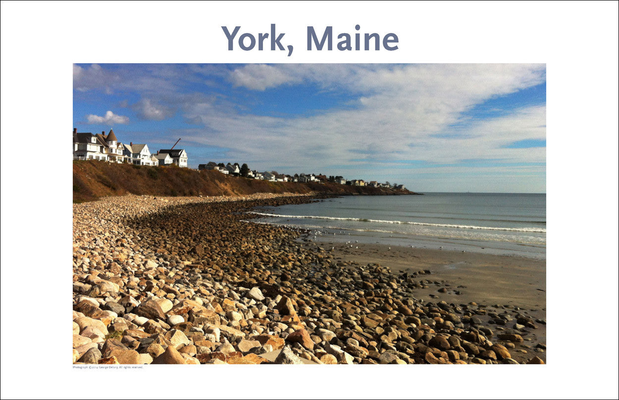 Long Sands Beach, York, Maine Photo Poster Collection #318