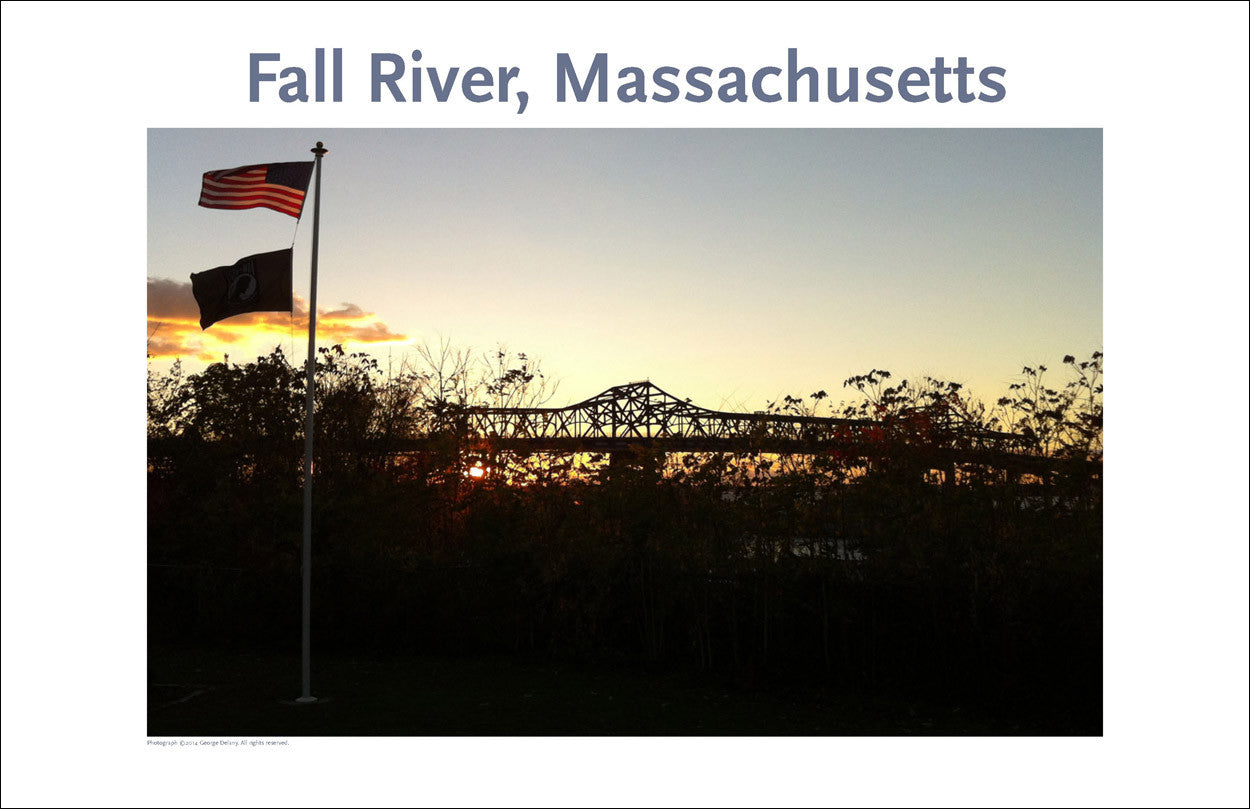 Wall Art, Fall River, MA Magnificent Braga Bridge Digital Photo #326