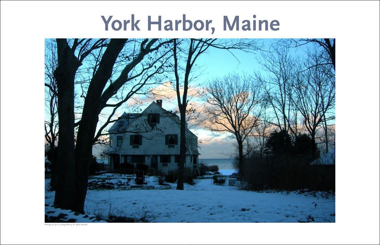 York Harbor Maine, Thanksgiving, Photo Poster Collection #333