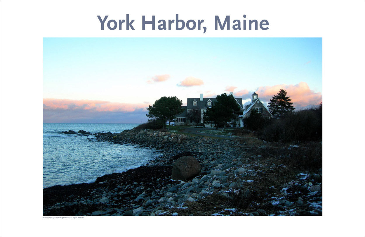 York Harbor Maine, Thanksgiving, Photo Poster Collection #342