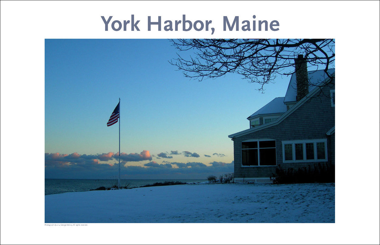 York Harbor Maine, Thanksgiving, Photo Poster Collection #344
