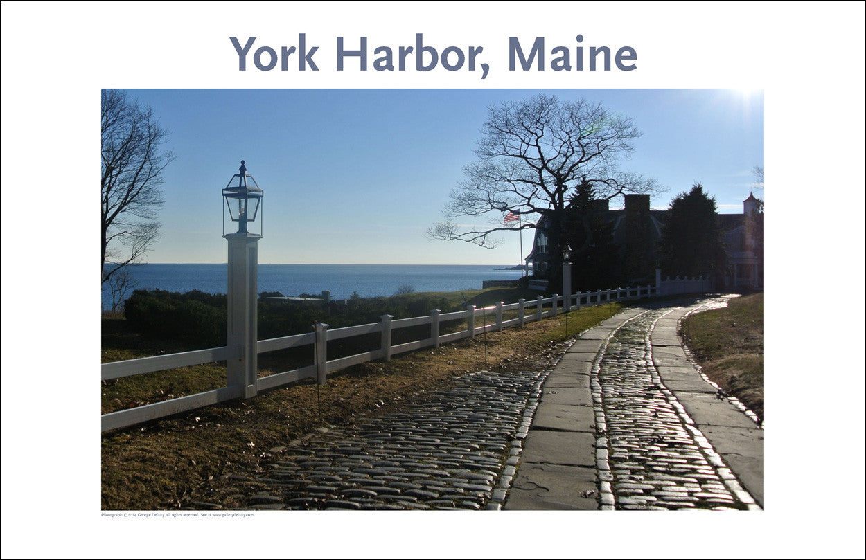York Harbor, Maine, Place Photo Poster Collection #345