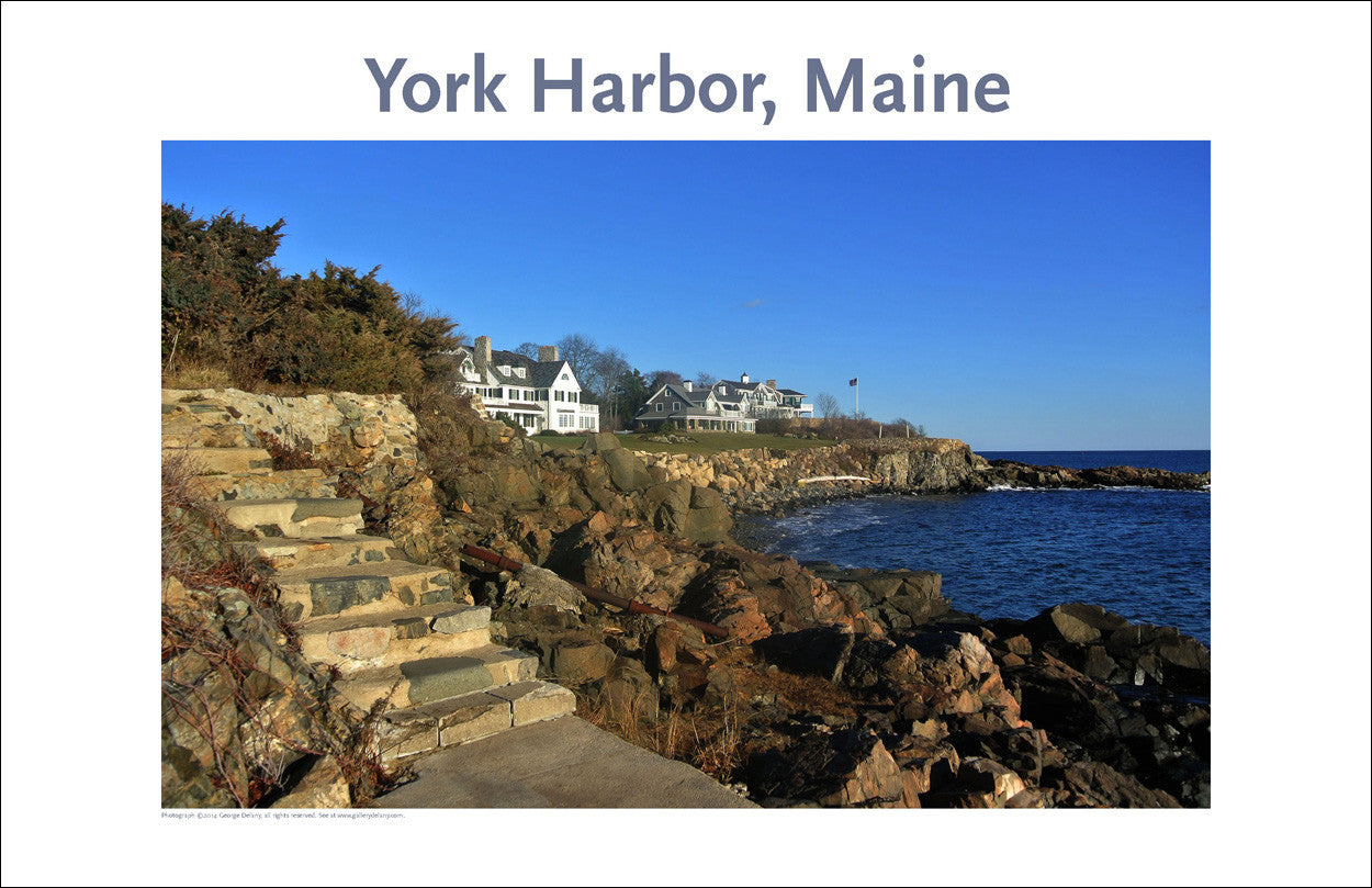 York Harbor, Maine, Place Photo Poster Collection #346