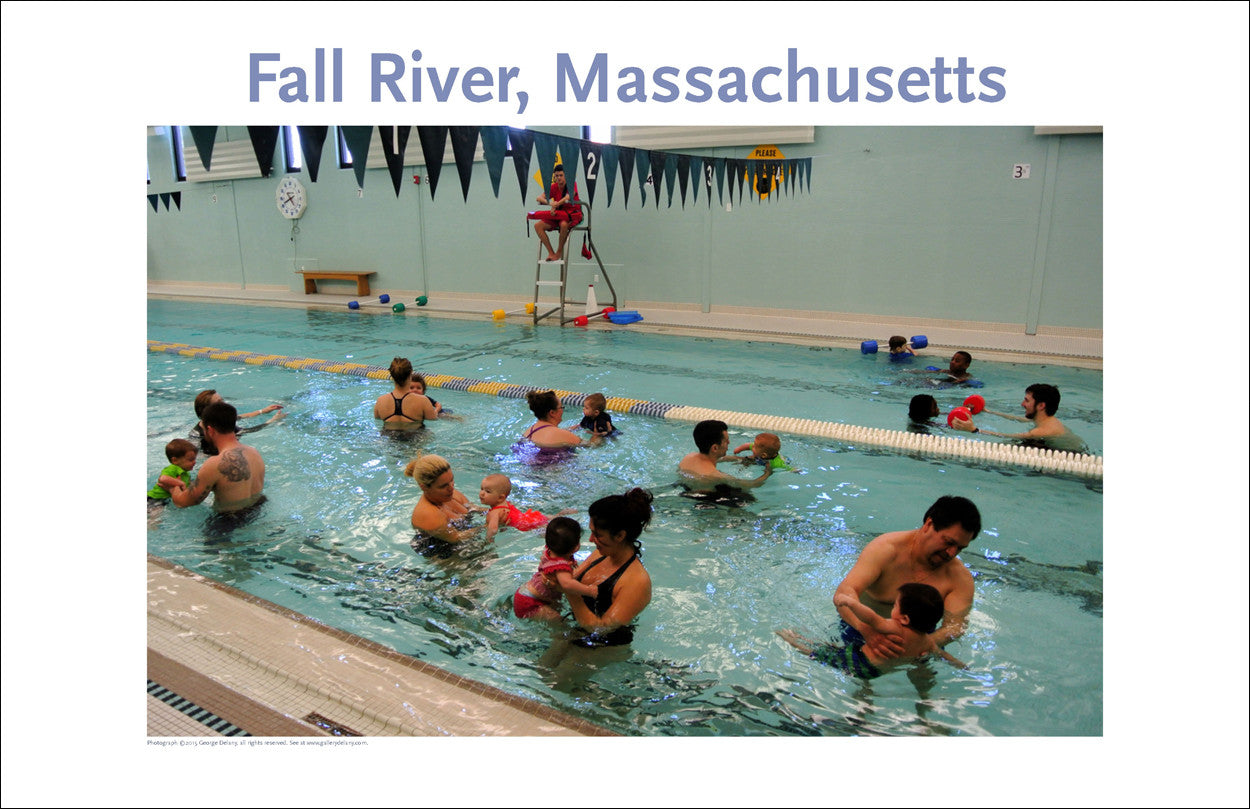 Wall Art, Fall River, MA YMCA Digital Photo #383