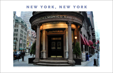 Financial District, Delmonico's...Place Photo Poster Collection #397