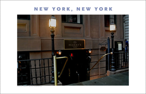 Harry's Cafe, Financial District, New York Photo Poster Collection #403