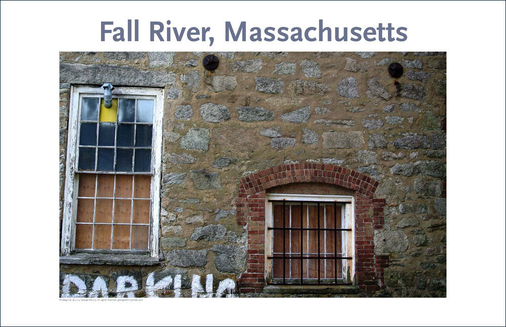 Wall Art, Fall River's Durfee Union Mills, Ma, Digital Photo #40