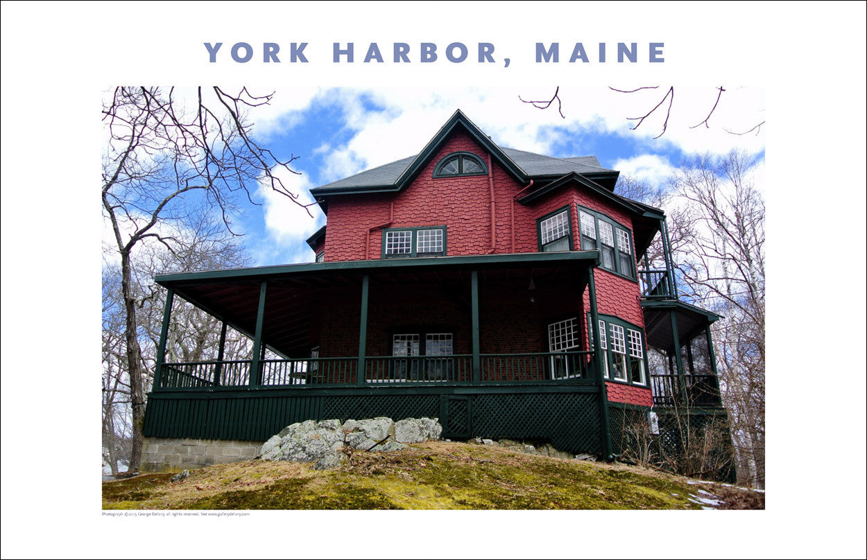 York Harbor, Maine, Place Photo Poster Collection #424