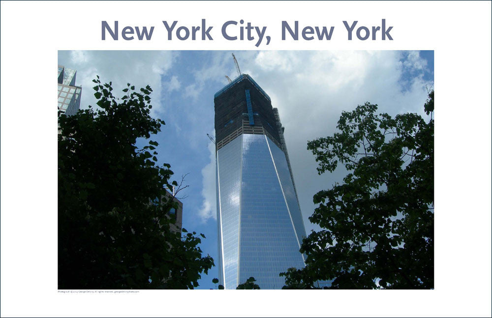 Freedom Tower, New York City, Place Photo Poster Collection #42