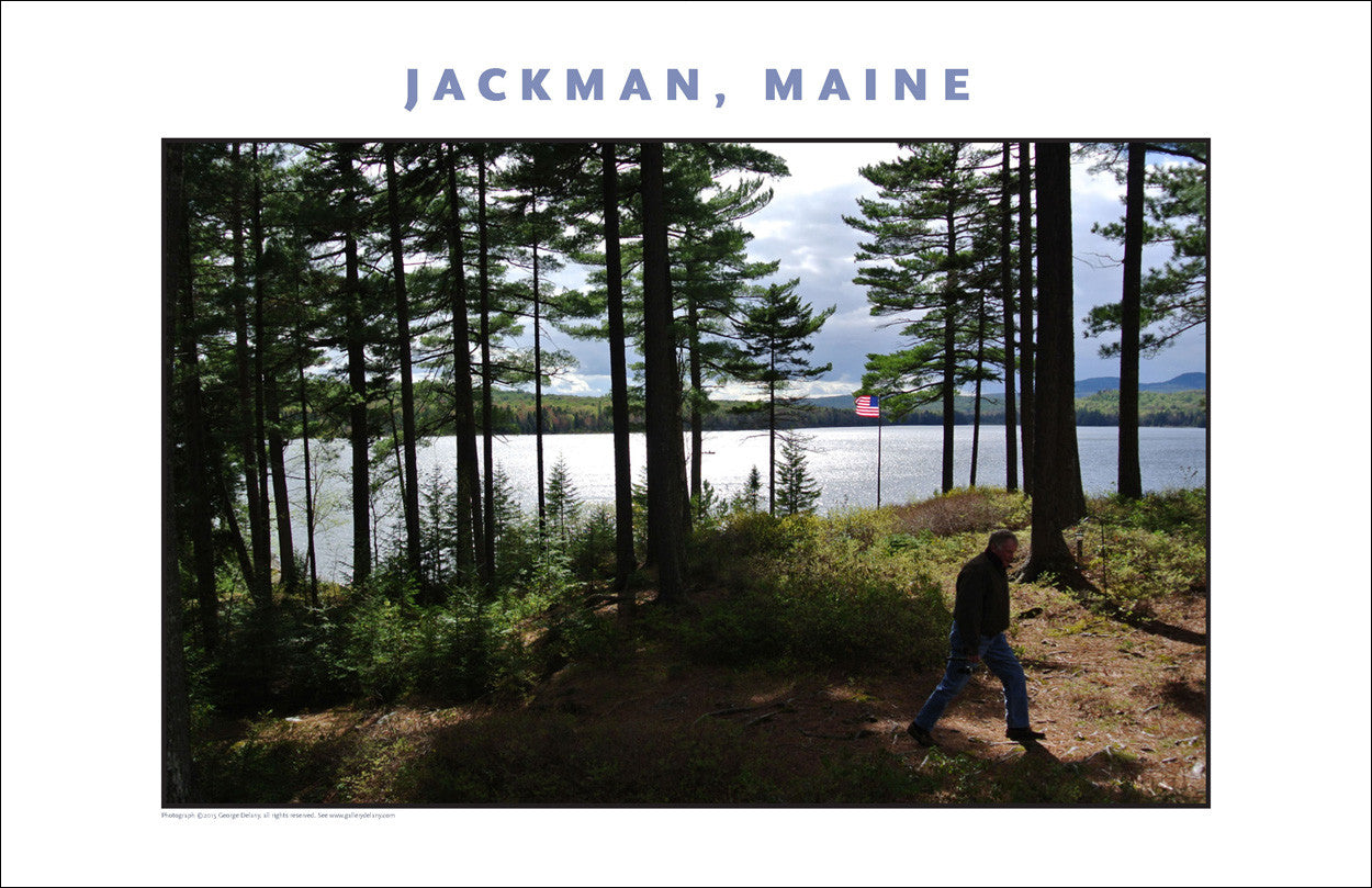 On the Water, Jackman Maine, Place Photo Poster Collection #443