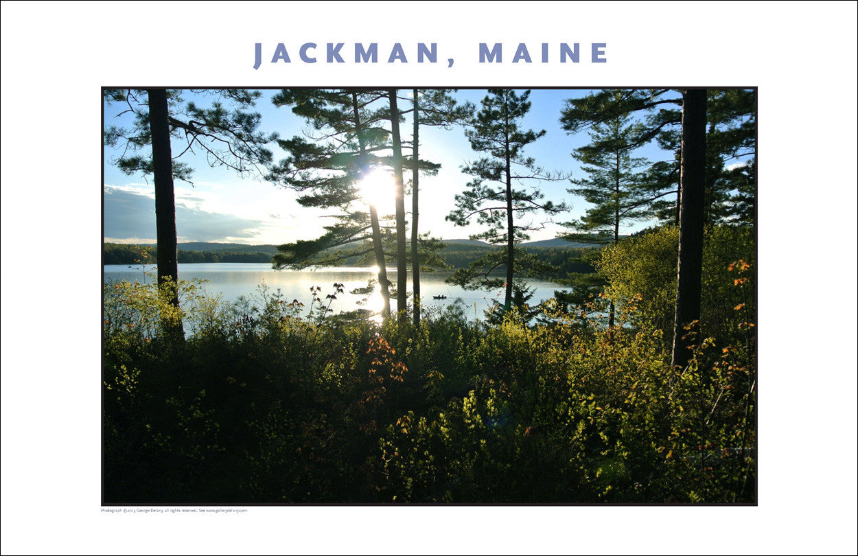 Fishermen at Jackman Maine, Place Photo Poster Collection #444