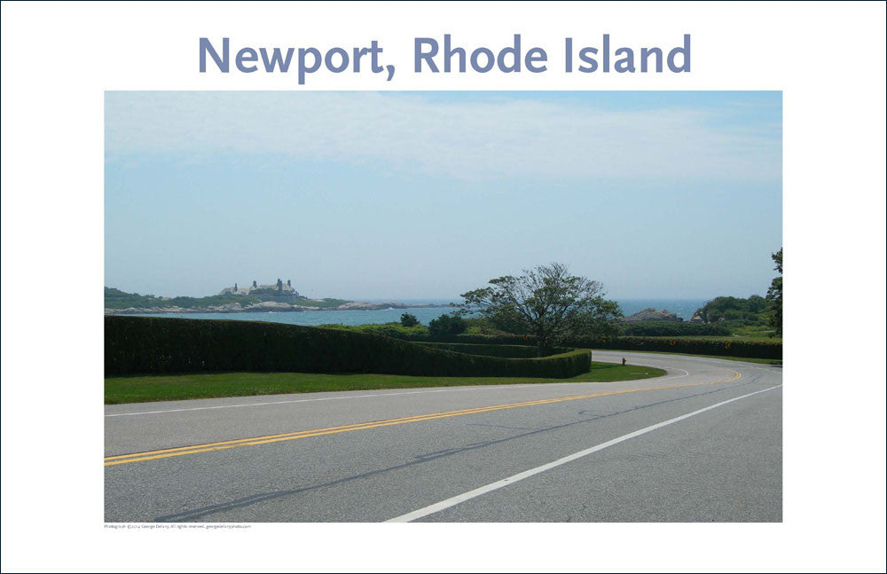 Ocean Drive, Newport, Rhode Island, Place Photo Poster Collection #45