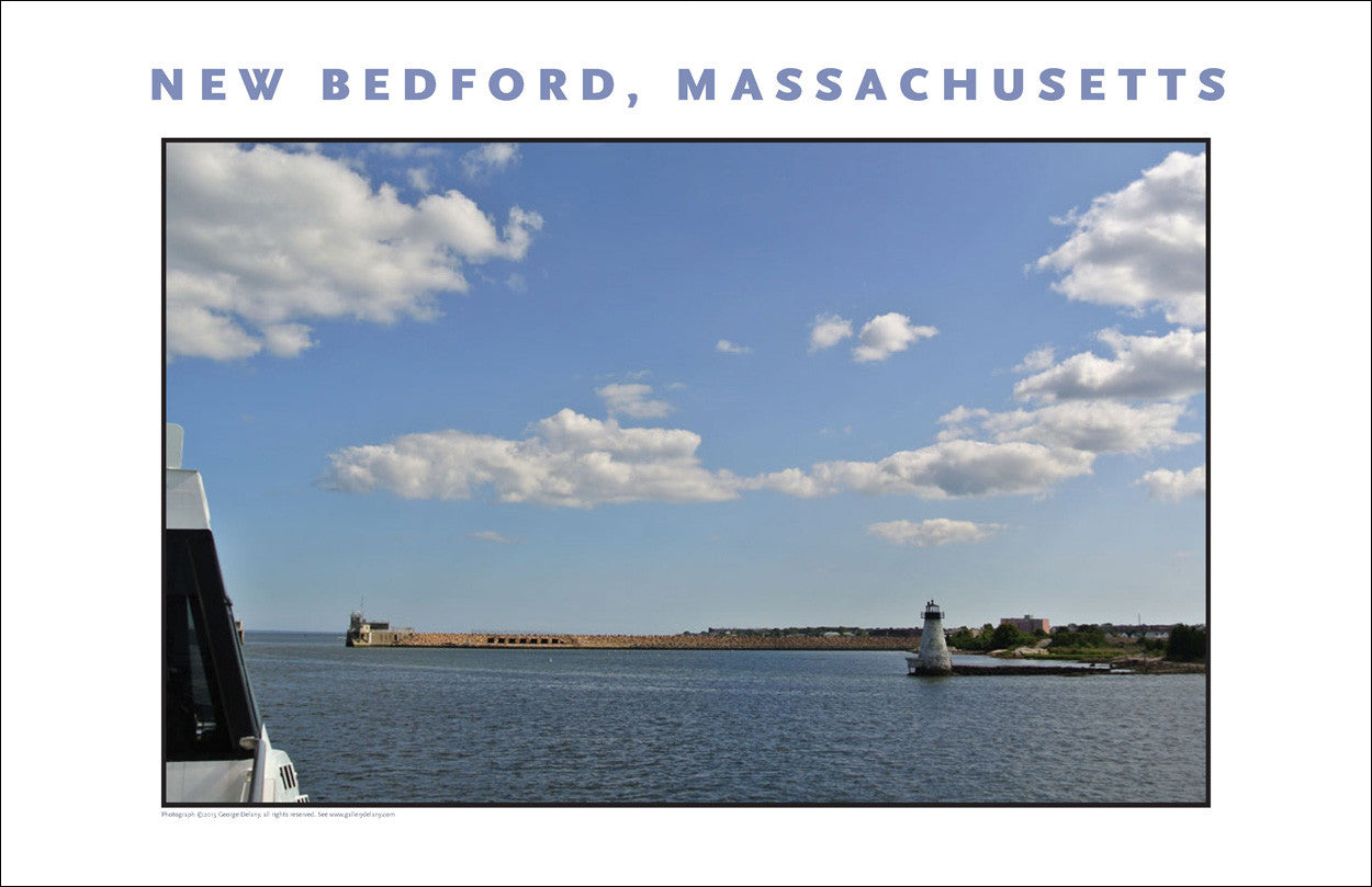 Wall Art, Departing New Bedford, MA for Islands, Digital Photo #463