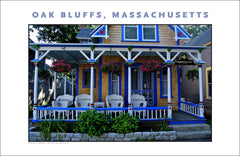 Just passing by...Campground, Oak Bluffs, Martha's Vineyard Wall Art #484