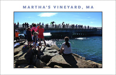 You're No Islander Until You've Jumped the Bridge, Martha's Vineyard Wall Art #491