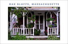 Yet Another Great Spot in Oak Bluffs, Martha's Vineyard Holiday Wall Art #497