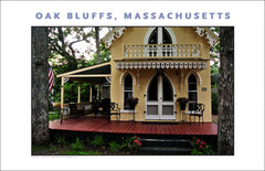 Jazzy Spot in Oak Bluffs, Martha's Vineyard Gift Art #498