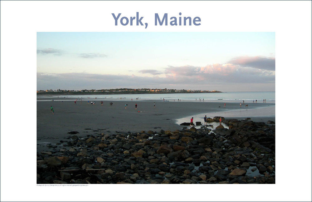 Long Beach, York, Maine, Place Photo Poster Collection #49