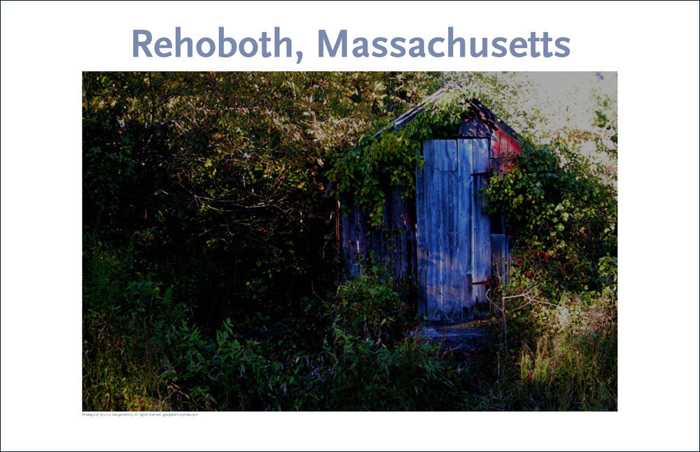 Wall Art, Rehoboth, MA, An Old Outbuilding, Digital Photo #4