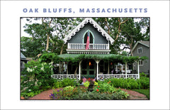 Gorgeous Cottage at Campground, Oak Bluffs, Martha's Vineyard Wall Art #502
