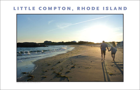Little Compton at Sundown, Rhode Island, Place Photo Poster Collection #520