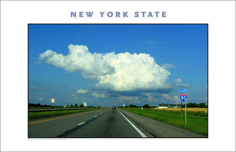 Upstate NY on Thruway, New York Photo Poster Collection #521