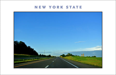 Farm Country...Upstate NY on Thruway, New York Photo Poster Collection #523