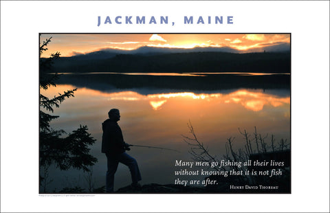 Fishing? Jackman Maine, Place Photo Poster Collection #524