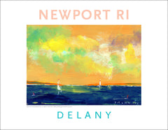 Off Shore 2, Newport, RI Acrylic Wall Art #547
