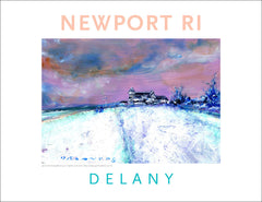Inn at Castle Hill In Winter, Newport, RI Acrylic Wall Art #550