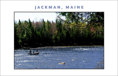 Spring Arrives, Jackman Maine, Place Photo Poster Collection #617