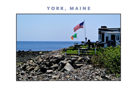 Waterfront Trailer Park Opens, York, Maine, Place Photo Collection #625