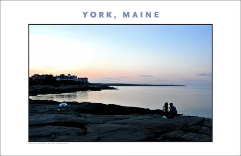 View North from  Nubble Light, York, Maine, Place Photo Collection #632
